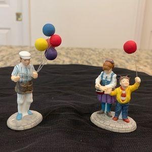 Dept 56, Extremely Rare , Disney Balloon Seller